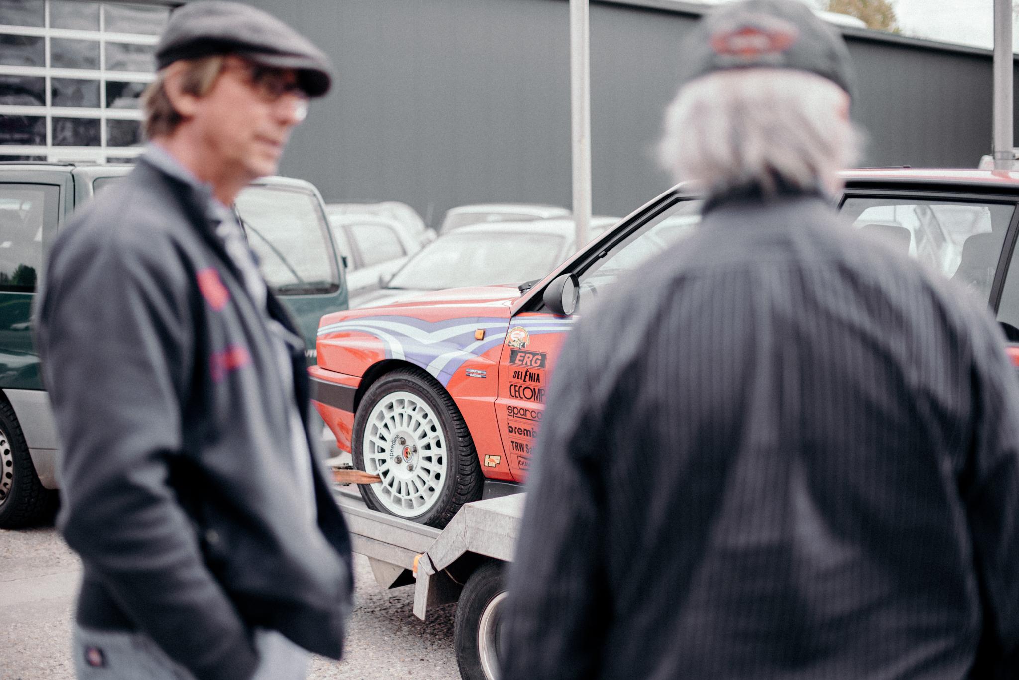 Lancia Delta HF Integrale – alte Bekannte