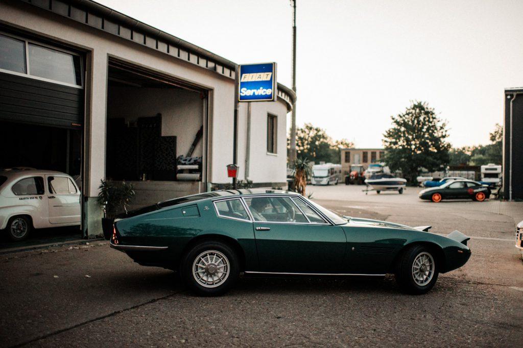 Oldtimer Werkstatt in Berlin Köpenick Cöpmobiles spezialisiert auf Maserati Ghibli Fiat Lancia